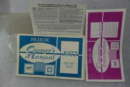 Buick Century Regal 1977 Owners Manual Set 14669 - $23.71