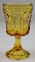 """Anchor Hocking Fairfield Amber Pattern Wine Glass 5.25"""" Tall Home Decor ... - $9.99"""