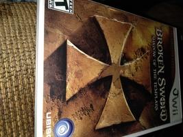 Nintendo Wii  Broken Sword: Shadow Of The Templars image 1