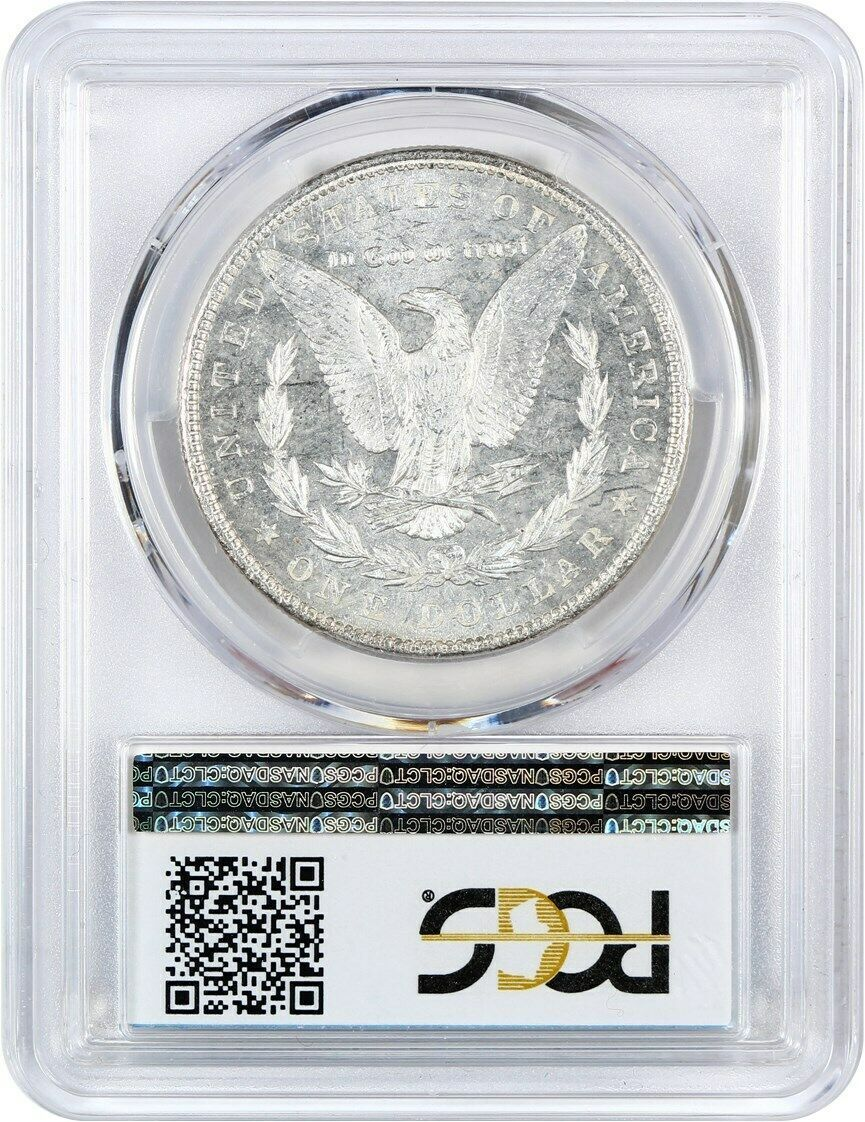 1889 $1 PCGS MS65 PL - Milky Fields!