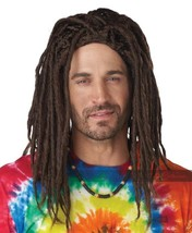 California Costumi Island Dreads Parrucca Rasta Hippy Adulto Halloween 7... - $31.68 CAD