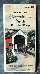 Primary image for Official Pennsylvania Dutch Guide Map