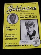 Goldmine Magazine August 1979 Bobby Rydell Bill Doggett  Elvis Presley W... - $14.99