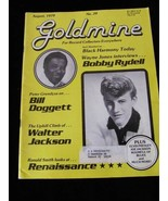Goldmine Magazine August 1979 Bobby Rydell Bill Doggett  Elvis Presley W... - $14.99