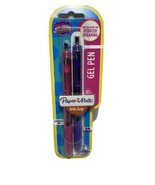 Paper Mate Ink joy Gel 0.7 2Pack Purple Pink Comfortable Grips pen comfo... - $4.90