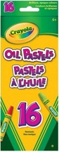 Crayola 16 Ct Oil Pastels, School and Craft Supplies, Gift for Boys Girl... - $12.93