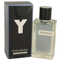 Yves Saint Laurent Y 3.3 Oz Eau De Toilette Cologne Spray image 3