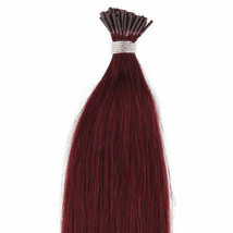 """18"""",22"""" 100grs,100s,I Tip (Stick Tip) Fusion Remy Human Hair Extensions #99J - $98.99+"""