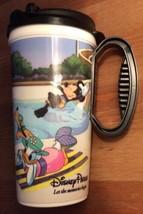 Black Walt Disney World Resorts Mug 2012 cup, Mickey Mouse Minnie Donald Goofy - $4.86