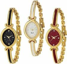 Krupa Enterprise Analogue Multicolor Dial Combo of 3 Women's & Girl's Watch - $49.49