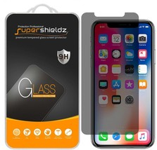[2-Pack] Apple iPhone X Privacy Anti-Spy Tempered Glass Screen Protector