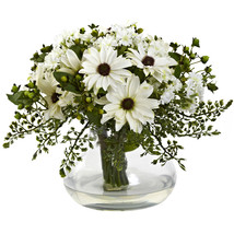 Large Mixed Daisy Arrangement - $77.92