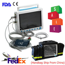 CONTEC CMS8000 Portable ICU Patient Monitor Vital Signs 6-Parameter Free... - $543.51