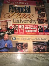 NEW 2006 Dave Ramsey Financial Peace University Kit Total Money Makeover... - $77.42