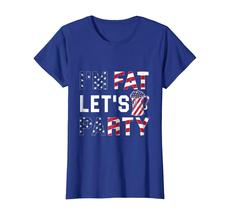 Brother Shirts - I'm Fat Let's Party T-Shirt Funny American Drinking Beer Tee Wo image 3
