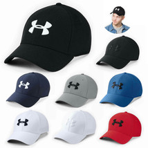 New Under Armour Stretch Fit Golf Baseball Cap Embroidered Unisex Women ... - $15.99