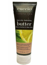 Cuccio Naturale Butter & Scrub,  White Limetta & Aloe Vera   4 oz