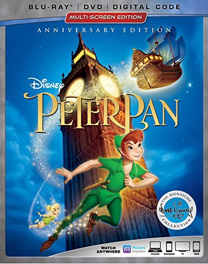 Disney Peter Pan Signature Collection [Blu-ray+DVD+Digital, 2018]
