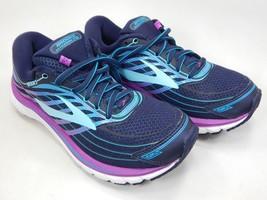 Brooks Glycerin 15 Size 6.5 M (B) EU 37.5 Women's Running Shoes Blue 1202471B465