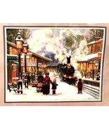 Sunset Stitchery Crewel Kit Snow And Steam Alan Maley #11088 New in Pack... - $57.42