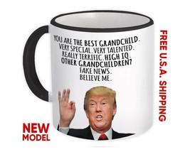 GRANDCHILD Gift Funny Trump : Mug Best Birthday Christmas Humor Maga Family - $13.37+