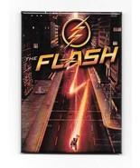 DC Comics The Flash TV Series Logo and Speeding Refrigerator Magnet NEW UNUSED - $3.99