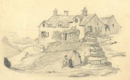 W.G. Marshall - 1896 Graphite Drawing, Staunton - $44.40