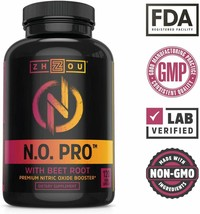 Nitric Oxide Supplement w/L-Arginine Citrulline Malate AAKG Beet Root 12... - $34.34