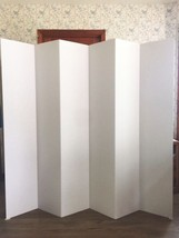 "Room Divider  Dorm Privacy Screen Partition 68"" tall (almost 6 ft.) - $49.00"