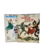 Lot Vtg 1960s Musical Theatre Sheet Music: Unsinkable Molly Brown & Wizard Of Oz - $27.31