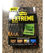 Post-it Extreme Notes  3 Pads  45 Sheets per Pad  Green & Orange  EXTRM3... - $7.02