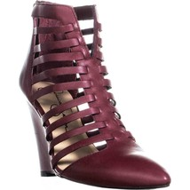 Jessica Simpson Viine Pointed Toe Strappy Wedge Sandals, Bava Red, 5.5 US / 35.5 - $38.39