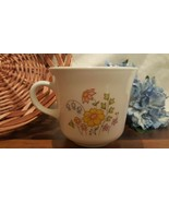 Corelle Meadow Cup Mug Yellow Blue Pink Flower Corning Coffee Tea (3 AVA... - $9.49