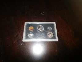coin proof coins set half dollar quarter 1972 dime nickel penny sealed  - $9.75