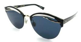 Christian Dior Sunglasses Dior Emprise RHLA9 63-15-145 Gold Black / Blue Limited - $176.40
