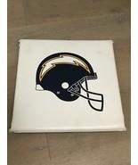 Vintage NFL San Diego Chargers Stadium Seat Cushion 90's Bolt Helmet Logo - $20.00