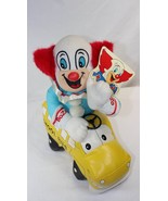 "Bozo the Clown & School Bus 12"" Stuffed Plush Toy with Tag By Good Stuff... - $39.59"