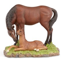 Lenox Bay Mare & Foal Horse Figurine Broodmare Peaceful Moment NEW - $79.20