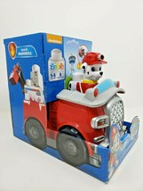 Paw Patrol Rescue Marshall Ionixo 9 Piece Building Toy Spin Master Nickelodeon - $24.67