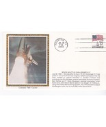 LAUNCH OF CHALLENGER 51-F HOUSTON TEXAS JULY 29 1985 COLORANO SILK - $2.98