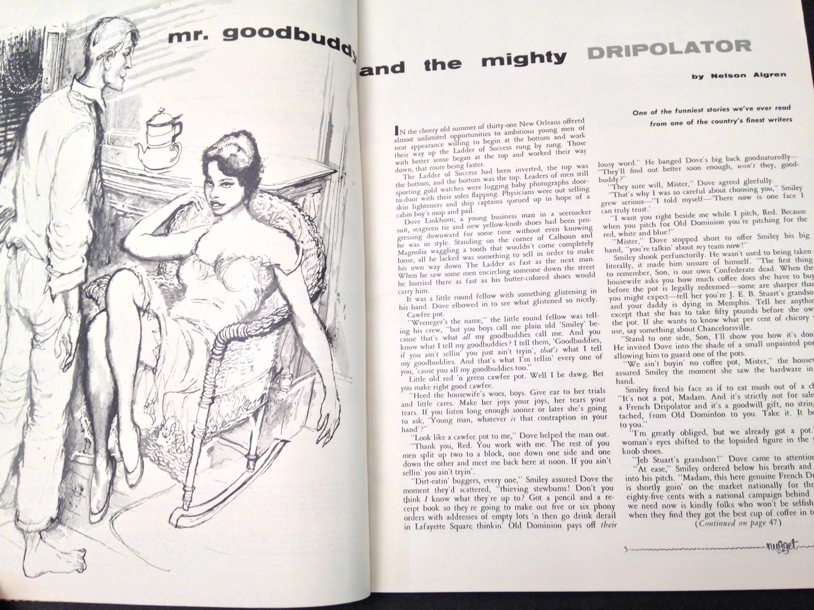 Nugget Men's Magazine Volume 1 Number 4 July 1956