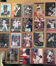 Mo Vaughn 19 Baseball Card Lot Boston Red Sox NM/M Condition Includes Rookie L2 - $3.59