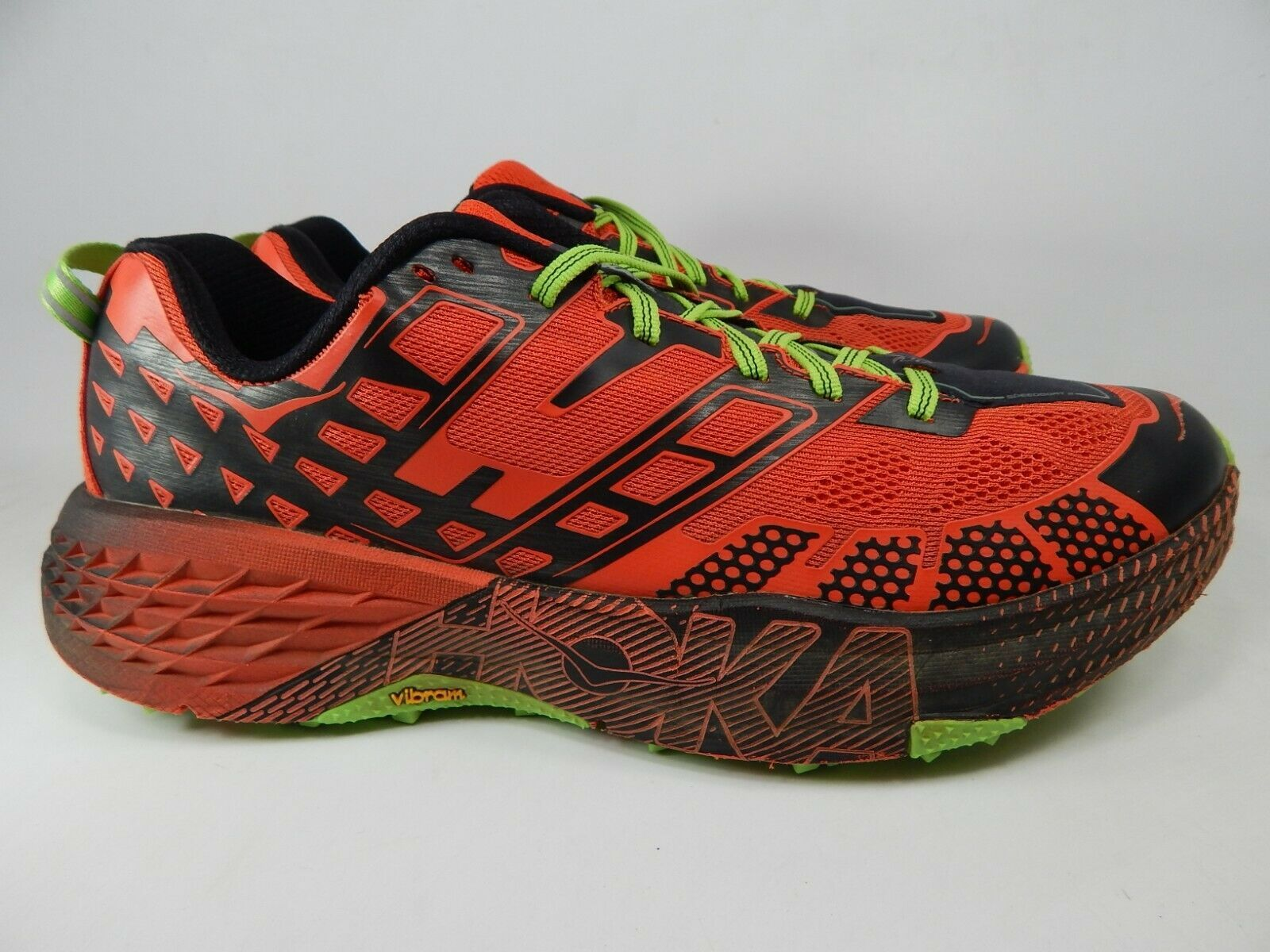 Primary image for Hoka One One SpeedGoat 2 Sz 11 M (D) EU 45 1/3 Men's Trail Running Shoes 1016795