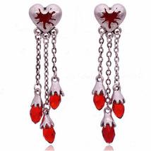 Necklace Skull Heart Choker Necklaces Pendants Halloween Gothic Punk Women - $12.45