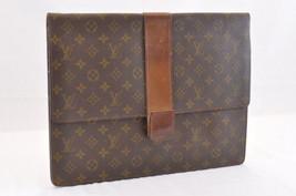 Louis Vuitton Monogramma Documenti Case Vecchio Modello IV Auth 6824 Jank - $182.98
