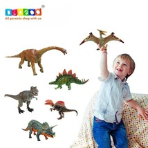 NEW! Kids Toy Dinosaur with Moving Parts 6 Figures up to 10.6 inches US - $62.06