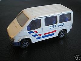 MAJORETTE FORD TRANSIT 1/60 N° 243 CITY BUS - $5.85