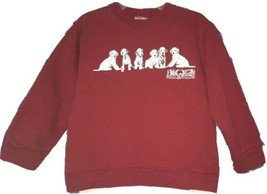 Disney Store Childs Boys/Girls Red 102 Dalmatians Sweatshirt Size Medium - $9.80
