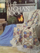 The Afghan Book 15 Designs Crochet & Knit Patterns & Broomstick Lace LA63 - $2.67