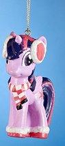 "3.25"" Lavender My Little Pony ""Princess Twilight Sparkle"" Decorative Christmas O - $17.81"